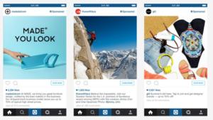types of instagram advertising